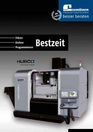 Hurco Bestzeit - Schröder Produktionstechnik GmbH