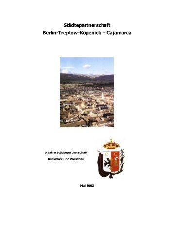 Städtepartnerschaft Berlin-Treptow-Köpenick – Cajamarca