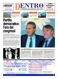 Partito democratico: l'ora dei congressi - La Voce del Nord Est ...