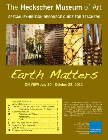 Earth Matters - the Heckscher Museum of Art