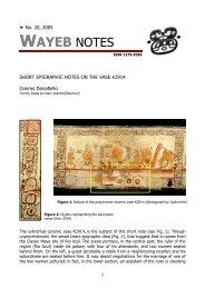 Short Epigraphic Notes on the Vase K2914 - Wayeb