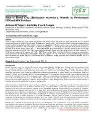 Status of Bhendi Crop (Abelmoschus esculentus L ... - CRDEEP