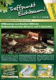 Die Eichbaum lädt zum Braufest 2008
