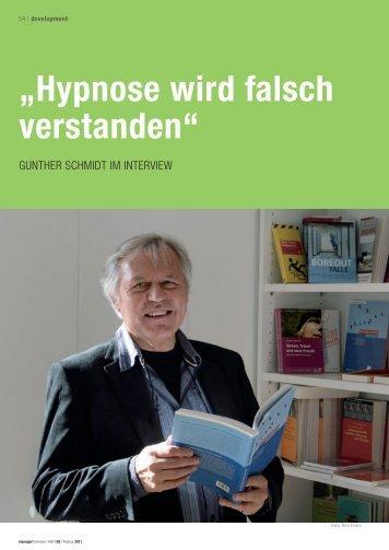 """""""Hypnose wird falsch verstanden"""""""
