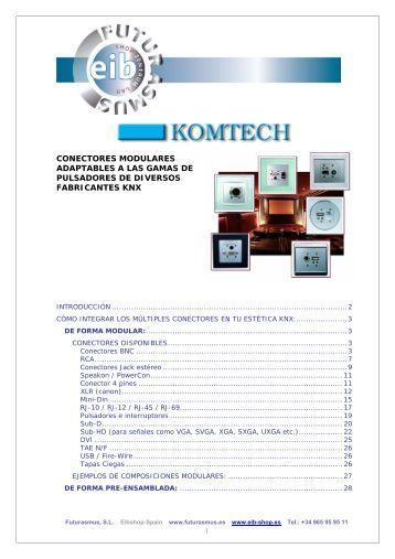Conectores Modulares Gamas - Casadomo