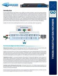 Barracuda Web Application Firewall - Orient Logic