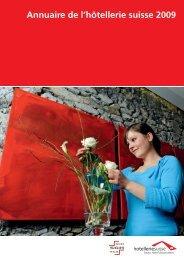 Annuaire de l'htellerie suisse 2009