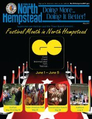 Festival Month in North Hempstead June 1 – June 5 - Town of North ...