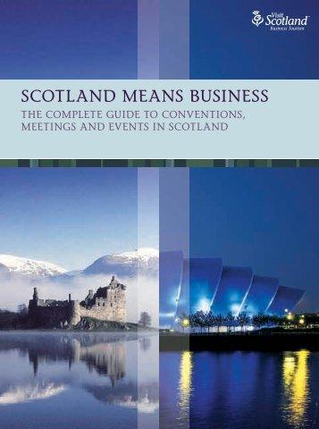Planners' Guide - Conventionscotland.com