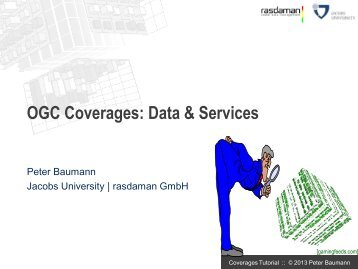 OGC Coverages and WCS overview - rasdaman GmbH