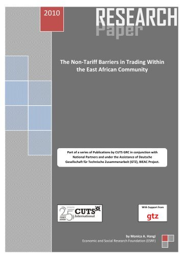 The Non-Tariff Barriers in Trading Within the East African Community