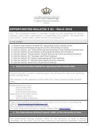Opportunities Bulletins # 82 March - The Royal Film Commission ...