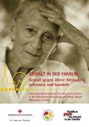 GEWALT IN DER FAMILIE: - Österreichisches Rotes Kreuz