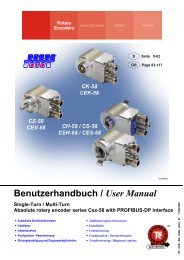 Benutzerhandbuch / User Manual - TR Electronic