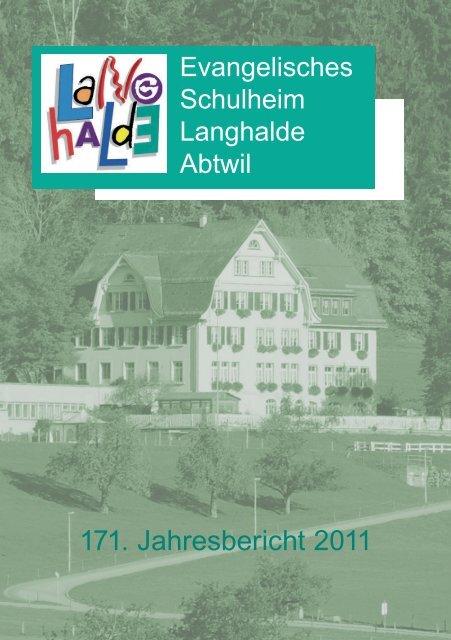 171. Jahresbericht 2011 - Links
