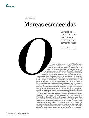 Marcas esmaecidas - Revista Pesquisa FAPESP