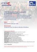 Stretnutie lídrov SlovenSkého Stavebníctva 2012 / h2 - INFOMA - Page 2