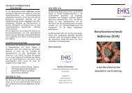 Berufsvorbereitende Maßnahme (BVM) - Elly-Heuss-Knapp-Schule