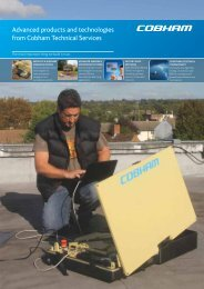 Advanced products and technologies from Cobham Technical ...