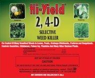 Label 21416 2 4-D Selective Weed Killer Approved 03 ... - Fertilome