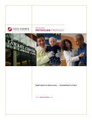 Breast Oncology - Dana-Farber Cancer Institute