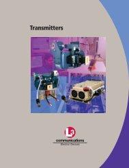 Transmitters - L-3 Communications