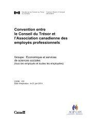Version PDF (460 ko) - Secrétariat du conseil du trésor