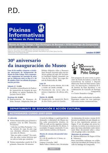 OUTUBRO 2007 =:MPG - Museo do Pobo Galego
