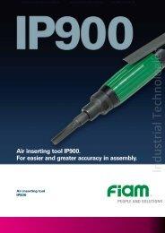 Air inserting tool IP900 FIAM Utensili Pneumatici Spa - Industrial ...