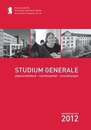 Studium Generale - Harriet Taylor Mill-Institut