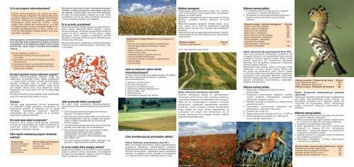 Program rolnośrodowiskowy, czyli rolnik strażnikiem przyrody - WWF