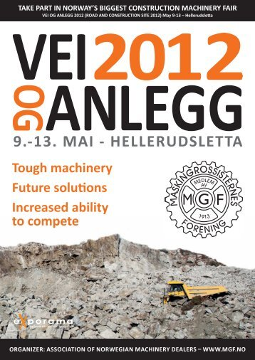 Tough machinery Future solutions Increased ability to ... - Pass+Co