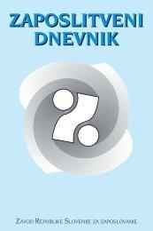zaposlitveni dnevnik zaposlitveni dnevnik - Zavod RS za zaposlovanje