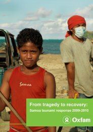 From tragedy to recovery: - Global Protection Cluster