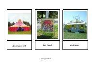 Woordkaarten Circus - Juf Janneke