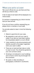 Attending as a Defendant in a Criminal Court - Northern Ireland ... - Page 4