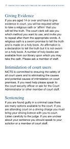 Attending as a Defendant in a Criminal Court - Northern Ireland ... - Page 6