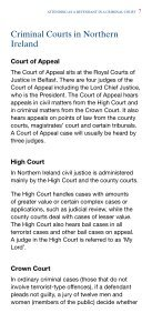 Attending as a Defendant in a Criminal Court - Northern Ireland ... - Page 7