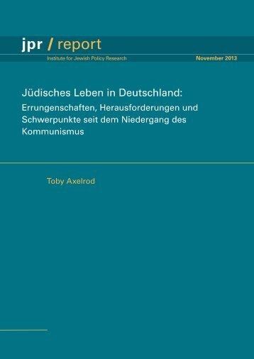 jpr / report - Rothschild Foundation Europe