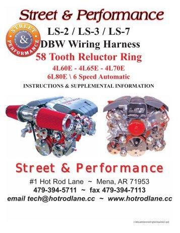 ls 1 wiring harness street performance rh yumpu com Ford Wiring Harness Kits street and performance tpi wiring harness