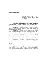 (Região, 22ª). TRT22 - Tribunal Regional do Trabalho da 4ª Região