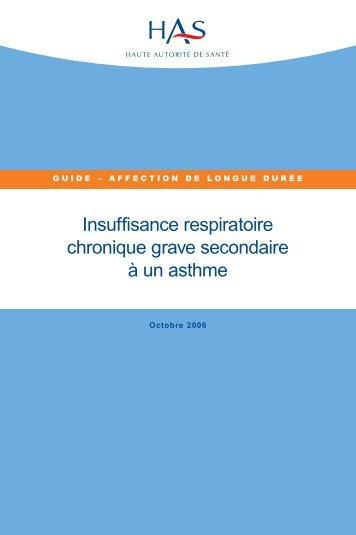 Asthme - PSA Auvergne