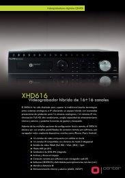 CENTER - XHD616 - Grabador hibrido de 16 canales - CCTV Center