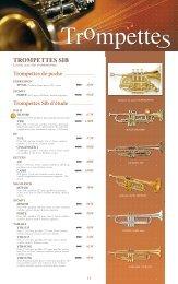 Télécharger le catalogue TROMPETTES - Feeling Musique