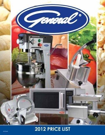 2012 PRICE LIST - Greenfield World Trade