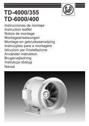 TD-4000/355 TD-6000/400