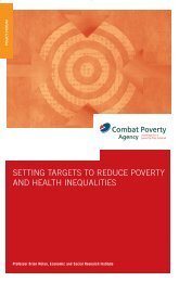 Setting Targets to Reduce Poverty and Health Inequalities (2006)