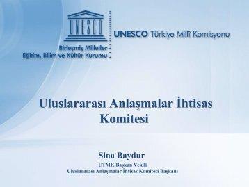Uluslararası Anlaşmalar İhtisas Komitesi - Unesco