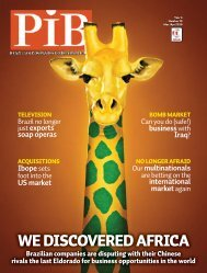 WE DISCOVERED AFRICA - Revista PIB