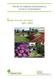 Livret d'accueil 2011-2012 - Ge.ch
